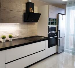 Угловая кухня Пластик №2265