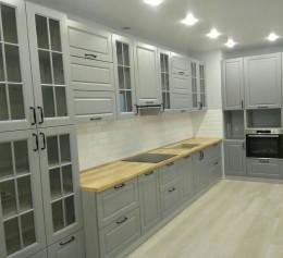 Угловая кухня МДФ №2282