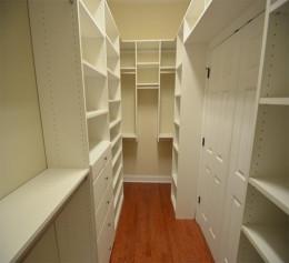 Ширина гардеробной комнаты 3 м