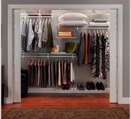 Сетчатая гардеробная в спальню