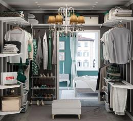 Ларвидж гардеробная система угловая
