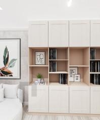 Книжный шкаф мдф