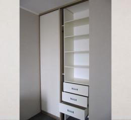 2 двери для встроенного шкафа купе