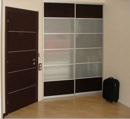 Двери купе для встроенного шкафа высокие