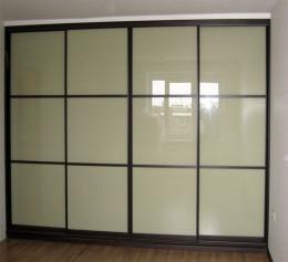 Заказные двери купе для встроенного шкафа недорогие