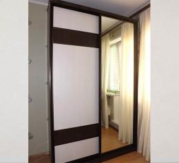Двери лдсп и зеркало в шкаф купе