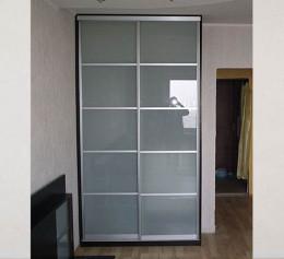 Матовые двери на шкаф купе