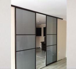 Раздвижная межкомнатная дверь и перегородка