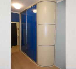 Радиусная дверь для шкафов высокие