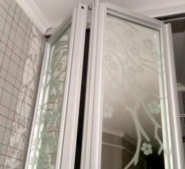 Складная дверь купе