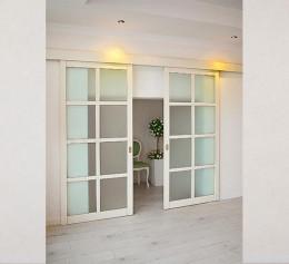 Двери подвесные для гардеробной
