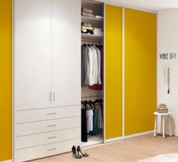 Заказные двери-купе для гардеробной
