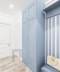Шкаф для одежды шириной 1 метр