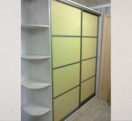 Шкаф купе корпусный пастельный