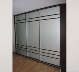 3 дверный шкафы купес лакобель