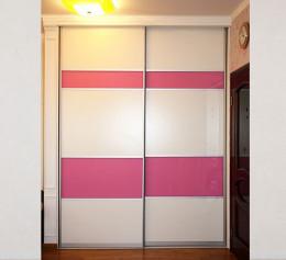 Шкаф купе в детскую комнатус лакобель