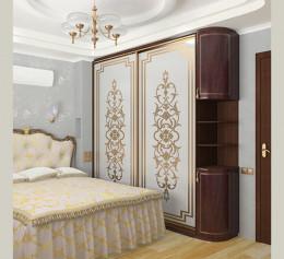 Классический шкаф купе для спальню