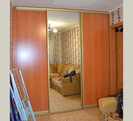 Шкаф купе ольха с зеркалом
