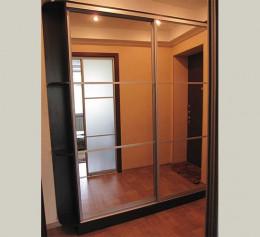 Шкаф купе с 2 зеркалами