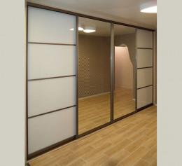 Шкафы купе лакобель с зеркалом