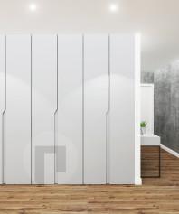Встроенный распашной шкаф в прихожую