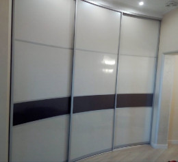 Радиусные двери купе в коридор |1290