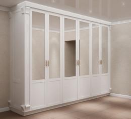 Шкафы белые массив дерева