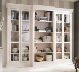 Шкаф для книг массив дерева