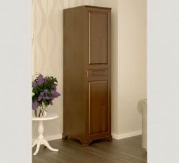 Одностворчатый шкаф из массива