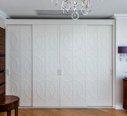 Шкафы с фасадами мдф с фрезеровкой