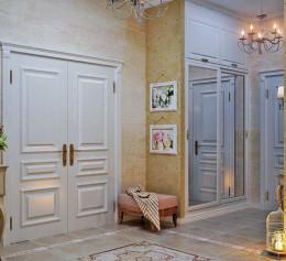 Шкаф в коридор в провансе