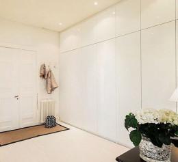 Шкафы скандинавский стиль до потолка