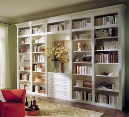 Шкаф для книг классический