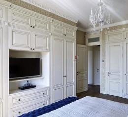 Шкафы в комнату в классическом стиле