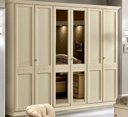 Шкаф в спальню слоновая кость