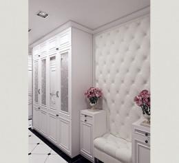 Шкаф в прихожую в классическом стиле