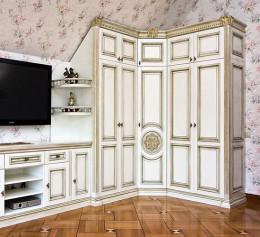 Купить угловой классический шкаф