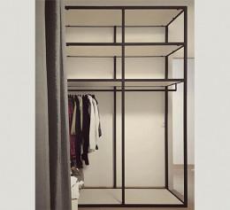 Открытый шкаф лофт