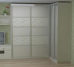 Угловые шкафы в маленькую гостиную
