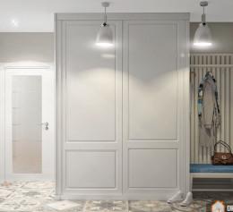 Шкаф белый 1200