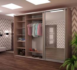 Шкаф в гостиную платяной современный