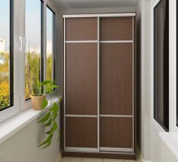 Шкаф узкий для одежды с вешалкой