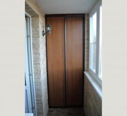 Шкафы на маленький балкон