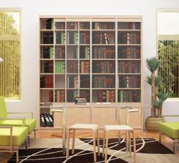 Книжный шкаф дуб сонома