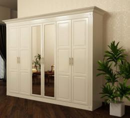 Шкаф 6 дверный с зеркалом