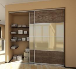 Настенные шкафы для гостиной