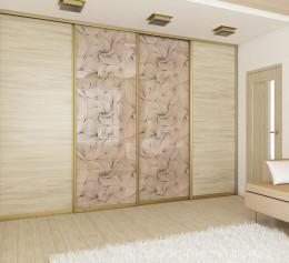 Современная стенка в гостиную со шкафом