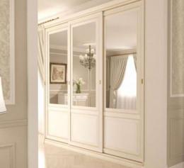 Шкаф навесной для гостиной белый