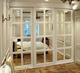 Белый книжный шкаф белый