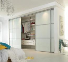 Шкаф навесной белый глянец гостиная